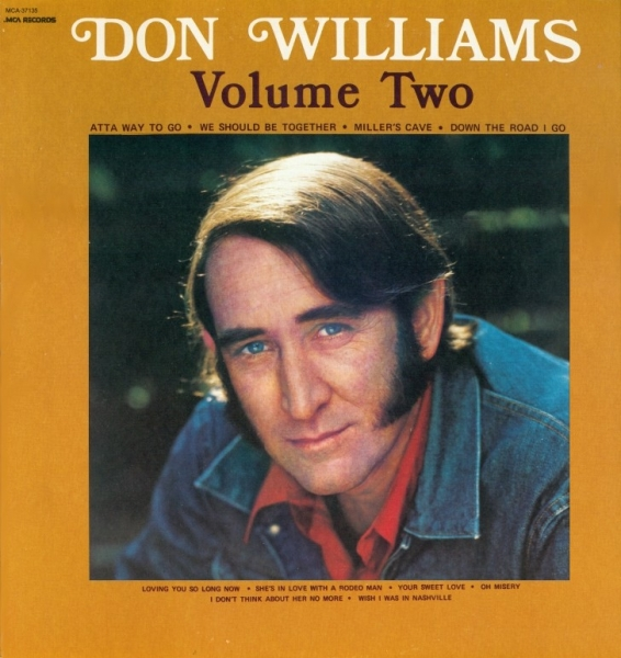 Don Williams Volume Two cover art