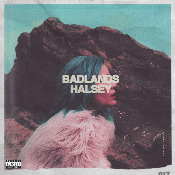 Halsey Badlands cover art