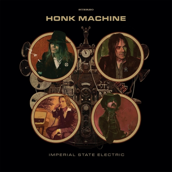 Imperial State Electric Honk Machine cover art