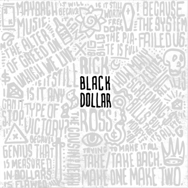 Rick Ross Black Dollar Cover Art
