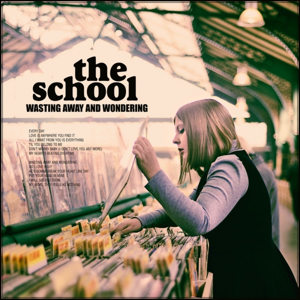 The School Wasting Away and Wondering cover art