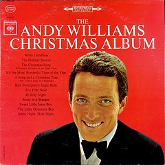 Andy Williams The Andy Williams Christmas Album cover art
