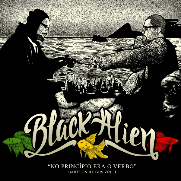 Black Alien Babylon by Gus, Volume II: No princípio era o verbo Cover Art