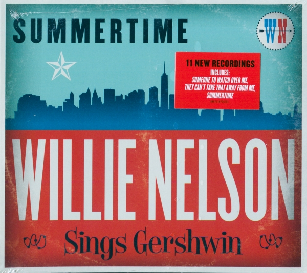 Willie Nelson Summertime: Willie Nelson Sings Gershwin cover art