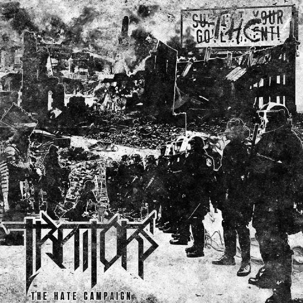 Traitors The Hate Campaign cover art