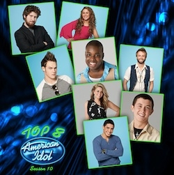 Haley Reinhart American Idol Top 8 Season 10 cover art