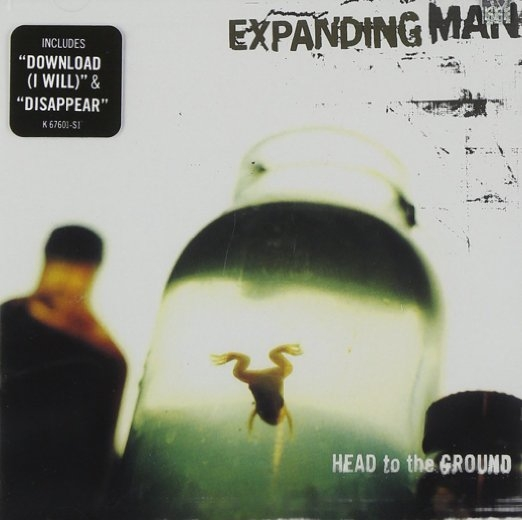 Expanding Man Head to the Ground cover art