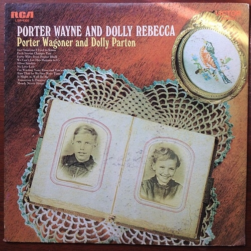Dolly Parton Porter Wayne and Dolly Rebecca cover art