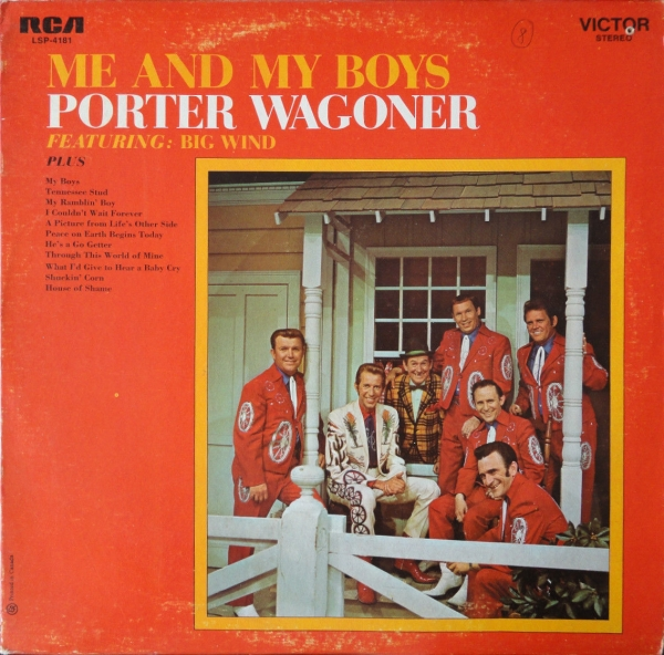 Porter Wagoner Me And My Boys Cover Art