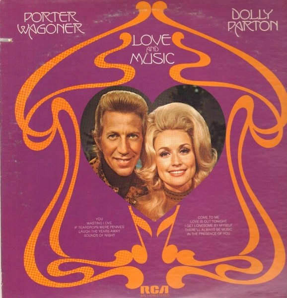 Porter Wagoner and Dolly Parton Love and Music Cover Art