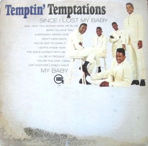 The Temptations Temptin' Temptations Cover Art