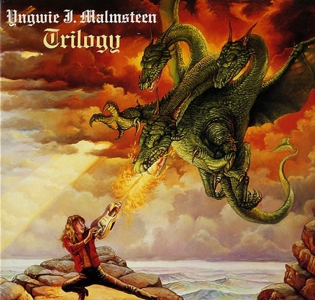 Yngwie Malmsteen Trilogy cover art
