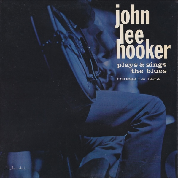 John Lee Hooker Plays and Sings the Blues cover art