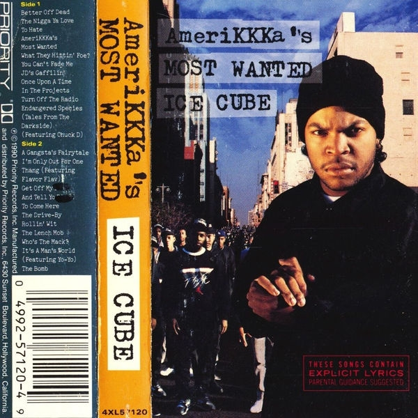 Ice Cube AmeriKKKa's Most Wanted cover art