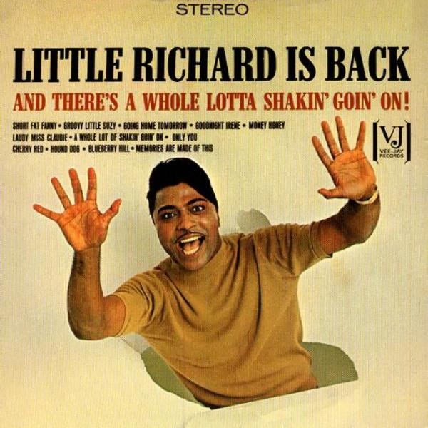 Little Richard Little Richard Is Back (And There's a Whole Lotta Shakin' Goin' On!) cover art