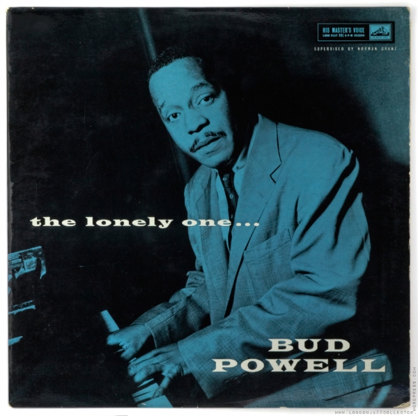 Bud Powell The Lonely One... cover art