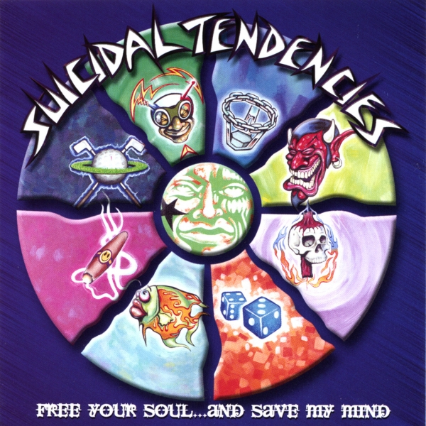 Suicidal Tendencies Free Your Soul... and Save My Mind Cover Art
