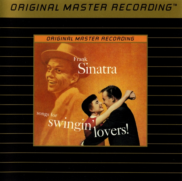 Frank Sinatra Songs for Swingin' Lovers! cover art