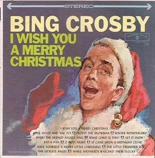 Bing Crosby I Wish You a Merry Christmas cover art