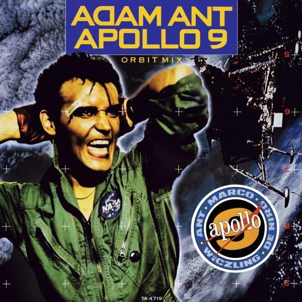 Adam Ant Apollo 9 Cover Art