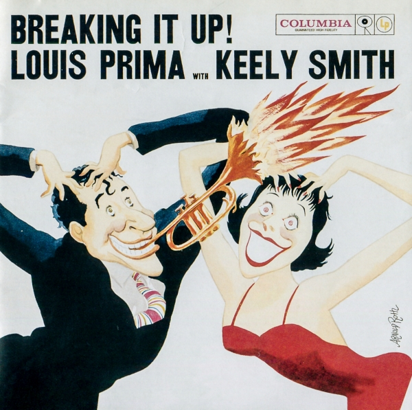 Louis Prima with Keely Smith Breaking It Up! Cover Art