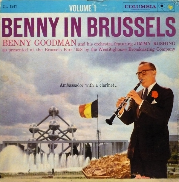 Benny Goodman Benny In Brussels Volume 1 Cover Art