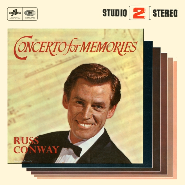 Russ Conway Concerto for Memories Cover Art