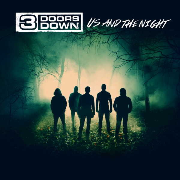 3 Doors Down Us and the Night cover art