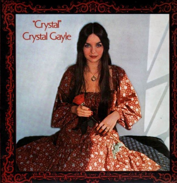 Crystal Gayle Crystal cover art