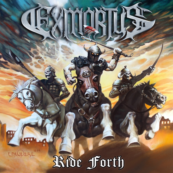 Exmortus Ride Forth Cover Art