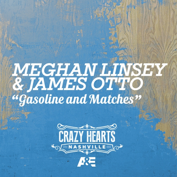 Meghan Linsey & James Otto Gasoline and Matches Cover Art