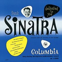 Frank Sinatra Dedicated to You cover art