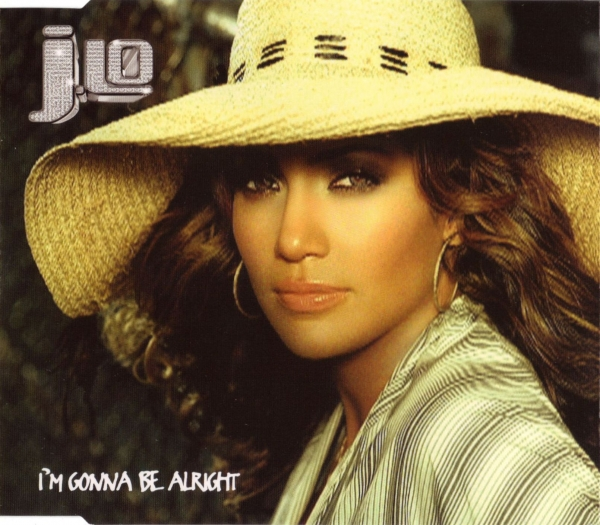 J.Lo I'm Gonna Be Alright Cover Art