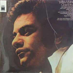 Johnny Mathis Close to You Cover Art