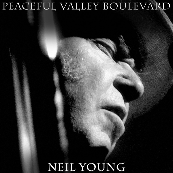 Neil Young Peaceful Valley Boulevard Cover Art