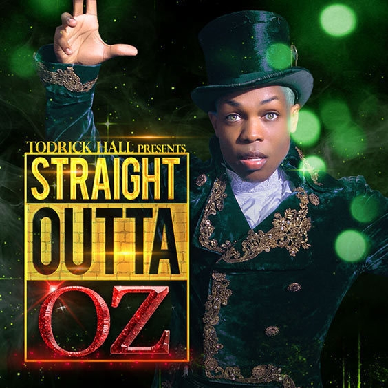 Todrick Hall Straight Outta Oz Cover Art