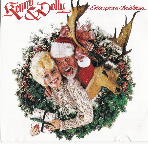Dolly Parton Once Upon a Christmas cover art