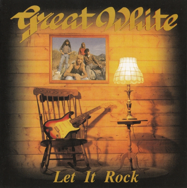 Great White Let It Rock Cover Art