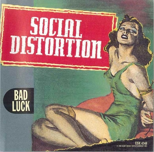 Social Distortion Bad Luck Cover Art