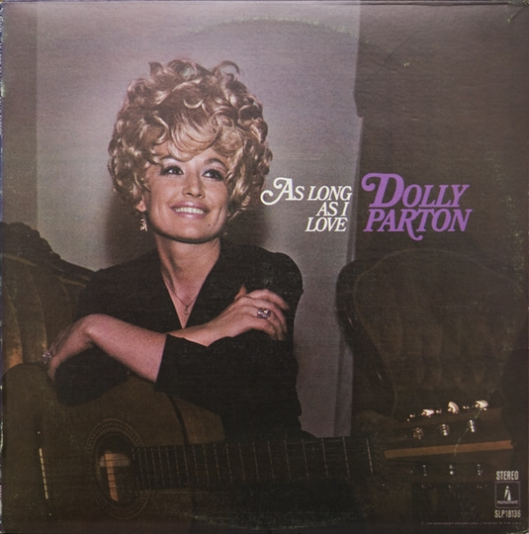 Dolly Parton As Long As I Love cover art