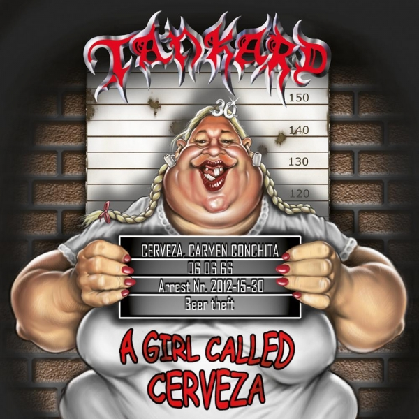 Tankard A Girl Called Cerveza Cover Art