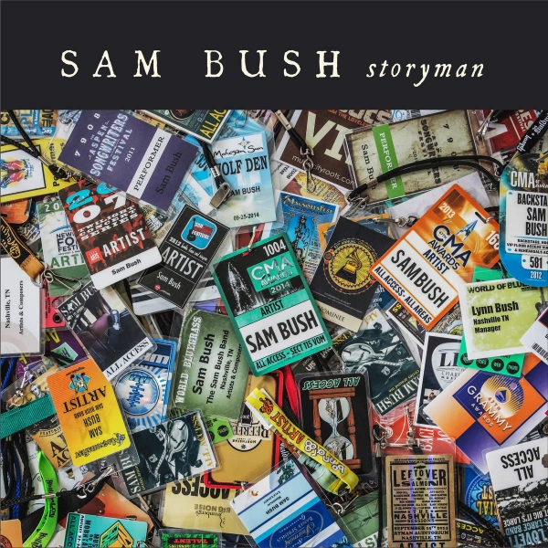 Sam Bush Storyman cover art