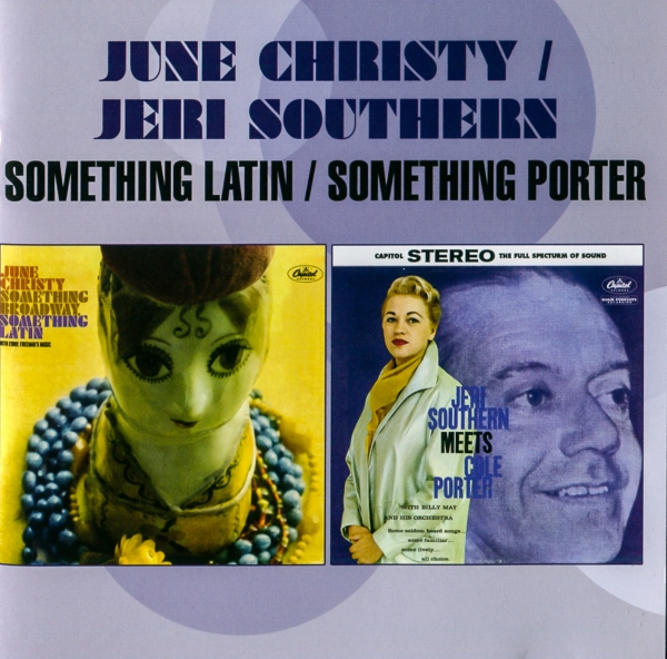 June Christy Something Latin / Something Porter cover art