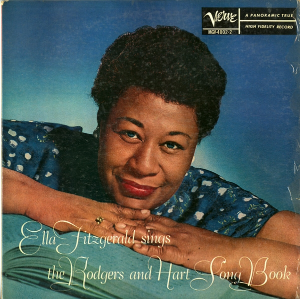 Ella Fitzgerald Ella Fitzgerald Sings the Rodgers and Hart Song Book cover art
