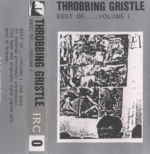 Throbbing Gristle Best Of.... Volume I Cover Art