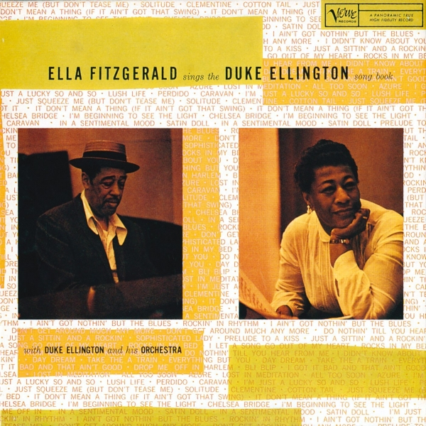 Ella Fitzgerald Ella Fitzgerald Sings the Duke Ellington Song Book, Volume 2 cover art