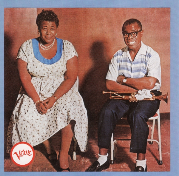 Ella Fitzgerald & Louis Armstrong Ella and Louis Cover Art