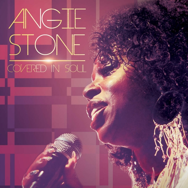 Angie Stone Covered in Soul cover art