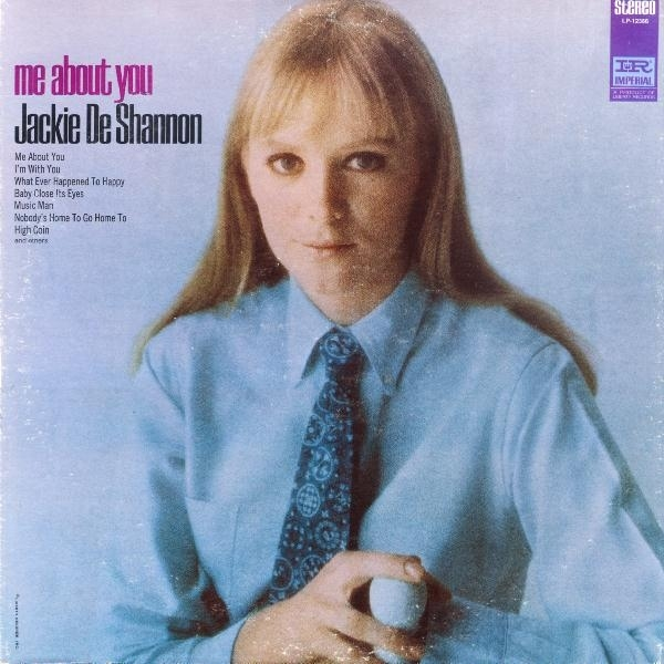 Jackie DeShannon Me About You Cover Art