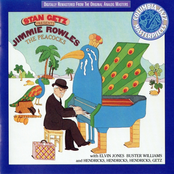 Stan Getz presents Jimmy Rowles The Peacocks Cover Art